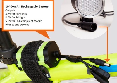Bike Portable Battery Charger