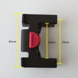KLICKfix handlebar adapter dimensions 1