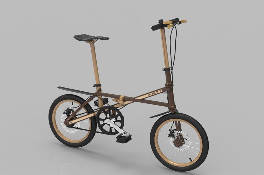 Smallest Folding Bike Lightweight Folding Bike