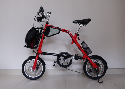 Nanoo Bike with Caddy and Vario Rack