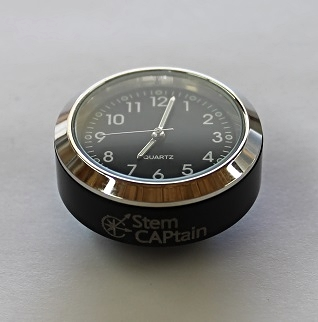 StepCAPtain clock black 1