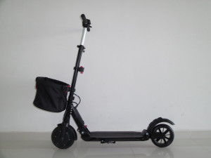 electric scooter shopper comfort mini basket 1