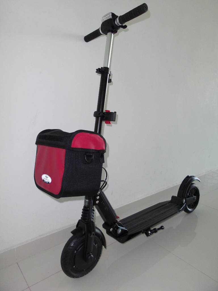 Quick Attach Basket Bag And Rack For Kick Scooter Singapore