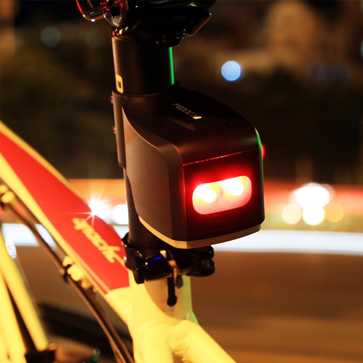 Bike Alarm And Rear Light