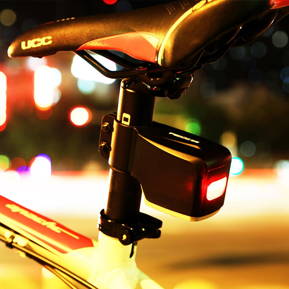 Bike Theft Alarm With Remote Singapore Bicycle Rear Light