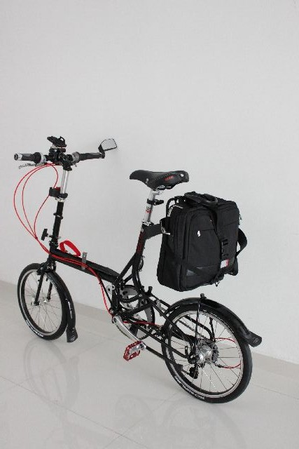 Bag on Vario Rack
